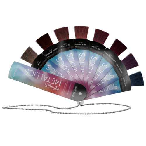 INFINITI Metallics Fan Swatch Chart